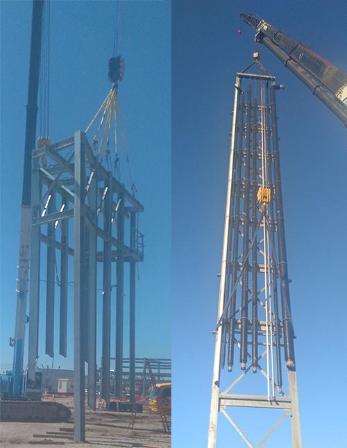 Ptp pipe racks large tank installation 181868 500pxw